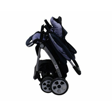 "Dream On Me Lightweight Stroller with ""Peek A Boo"" Canopy, Black"