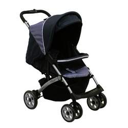 """Dream On Me Lightweight Stroller with """"Peek A Boo"""" Canopy, Black"""