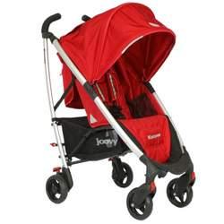 Joovy Kooper Umbrella Stroller, Red