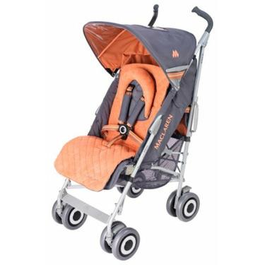 Maclaren Techno XLR Buggy Stroller Charcoal and Burnt Orange