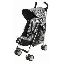 Maclaren Lulu Guinness Butterflies Buggy Stroller, Black/White