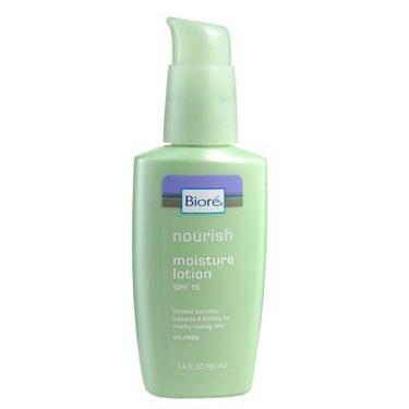 Biore facial moisturizer