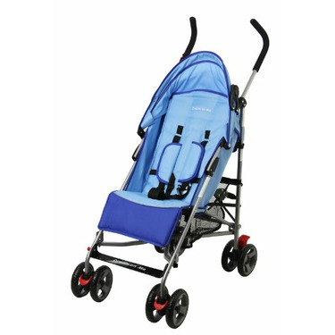 Dream On Me Lightweight Aluminum Stroller, Blue
