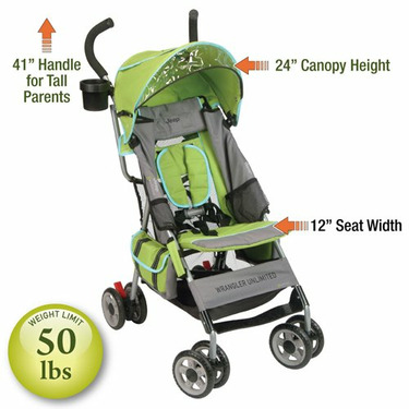 Jeep Wrangler Unlimited g-edition Stroller