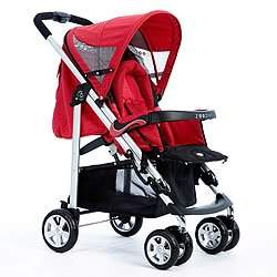 Waltz Single Stroller in Red Wave