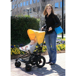 Micralite FastFold Superlite Stroller in Red