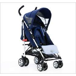 Twist Light-Weight Stroller in Blueberry Waves