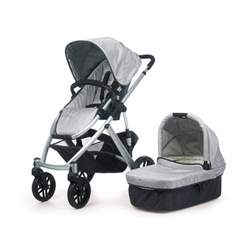 UPPAbaby Eco-friendly Vista Stroller, Silver/Mica