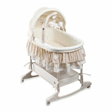 Delta Briarwood Baby Bassinet with Height Adjust