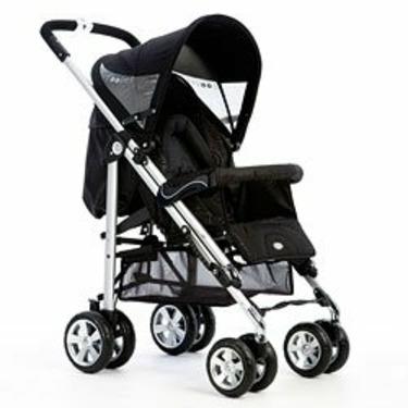 Bolero Convertible Stroller in Black Waves