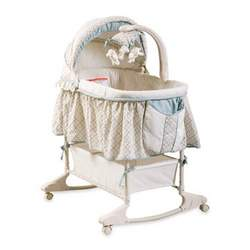 Delta Clayton Baby Bassinet with Height Adjust