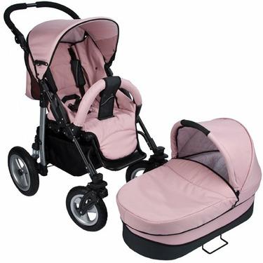 Walkabye Terrani - Infant to Toddler Package (Pink Rose)