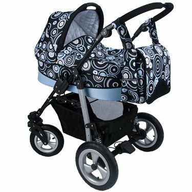 Walkabye Terrani Infant to Toddler Package (Blue Rain)