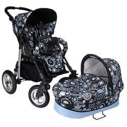 Walkabye Terrani Infant to Toddler Package (Blue Rain)