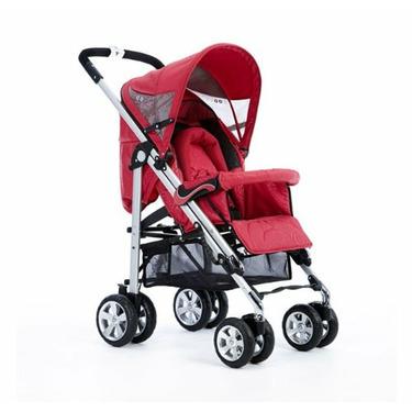 Bolero Convertible Stroller in Red Waves