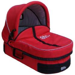 Tike Tech Single City X3 and City X4 Stroller Bassinet, Alpine Red