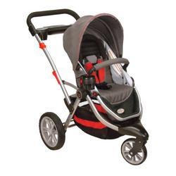 Kolcraft Contours Options 3 Wheeler Stroller II, Cinnamon