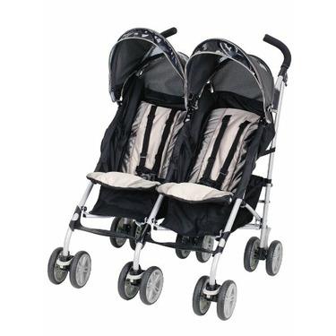 Graco Twin IPO Stroller, Platinum