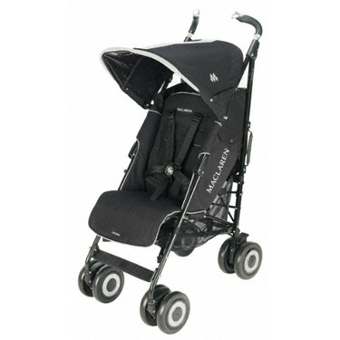 Maclaren Techno XT Stroller - Black on Black Frame