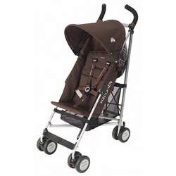 Maclaren Triumph Stroller Coffee and Silver