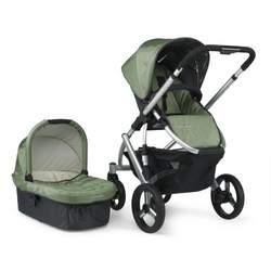 UPPAbaby Vista Stroller, Green Carlin