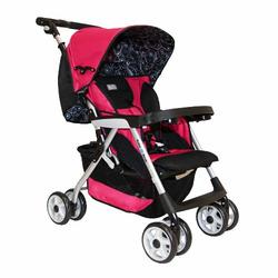 Abiie G2G BabyDeck Stroller, Fuchsia Red