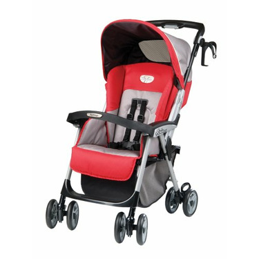 Peg Perego Aria Light Weight One Hand Fold Stroller in Tango