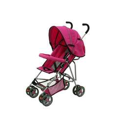 Dream On Me Single Stroller with large Canopy, Pink