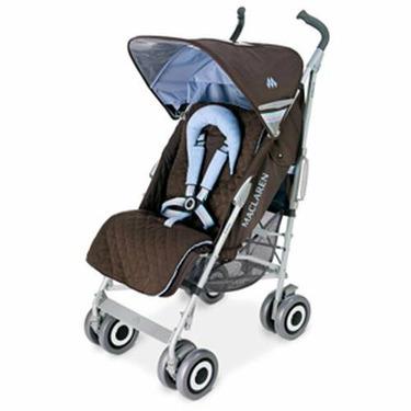 Maclaren Techno XLR Stroller in Coffee Sky Blue