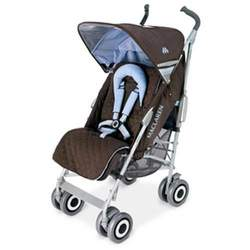 Maclaren Techno XLR Stroller in Coffee Sky Blue