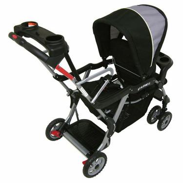 Baby Trend Phantom Sit N Stand Duo Stroller - Black/ Grey