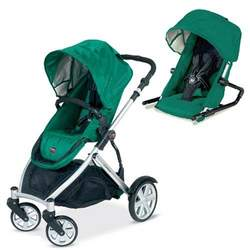 Britax B-Ready Stroller and 2nd Seat - Green