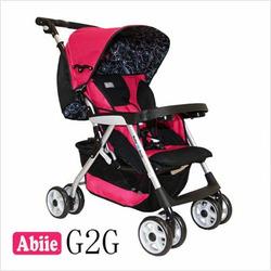 G2G BabyDeck Stroller in Fuchsia