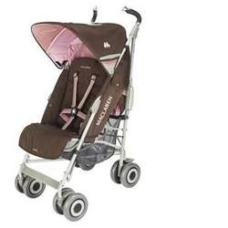 Maclaren Techno XLR Stroller in Coffee Powder Pink