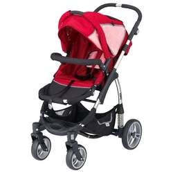 Kiddy Sport N Move Stroller, Red/Pink