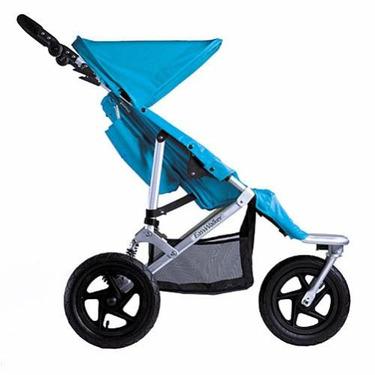 Easy Walker Duo Walker Double Stroller - Aqua Color