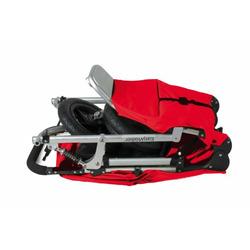 EasyWalker Single SKY BASE Stroller, Red