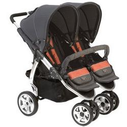 Valco Baby Latitude Twin Stroller Clay