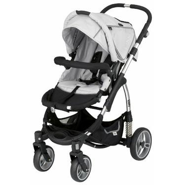 Kiddy Sport N Move Stroller, Silver