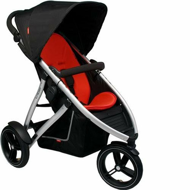 Phil & Ted's Vibe Buggy RED With Cup Holder
