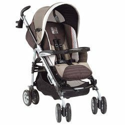 Peg Perego 2006 Pliko P3 Classico MT Stroller Pattern: Toffee
