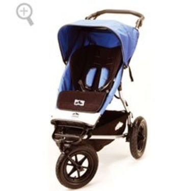Mountain Buggy Urban Elite Single Stroller - Mediterranean Blue