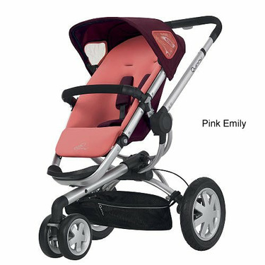 Quinny 2011 Buzz Stroller - Pink Emily