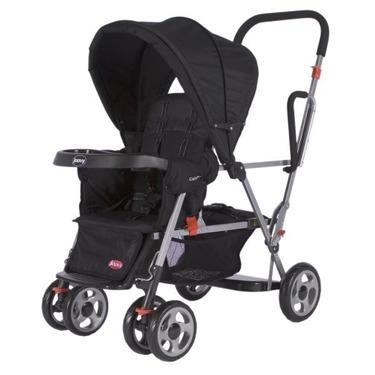 Joovy Caboose Stand On Tandem Stroller, Black