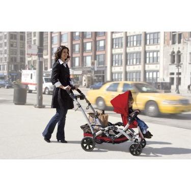 Kolcraft Contours Options Tandem Stroller, Ruby
