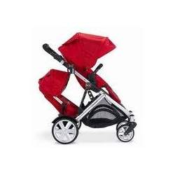 Britax B-Ready Stroller and Red 2nd Stroller Seat - Red