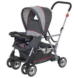 Baby Trend Tag-A-Long LT Tandem Stroller Red Rock