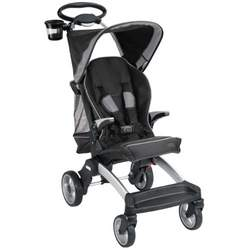 Mia Moda Cielo Evolution Compact Stroller, Nero