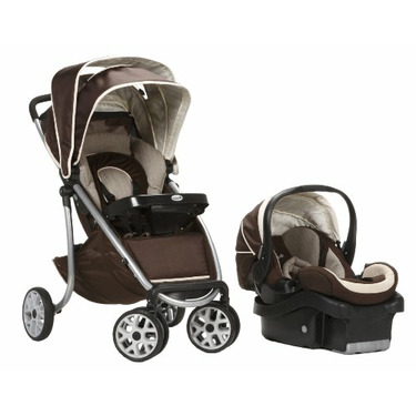 Safety 1st Aerolite LX Deluxe Travel System, Avery