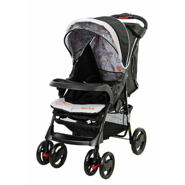 Dream On Me The Wanderer Family Collection Travel System, Orange